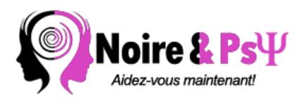 Noire & Psy et sa promotrice Yann V. Tsobgni